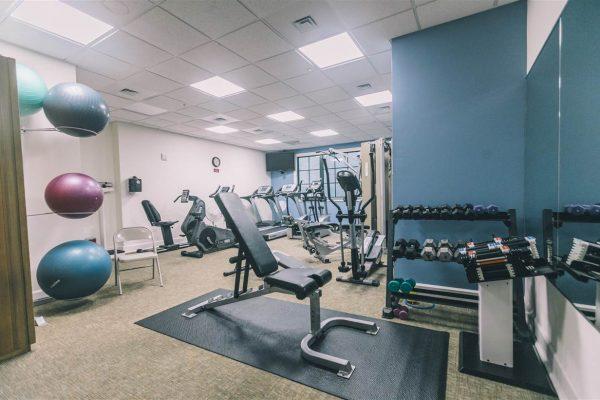 The Tennyson - Gym