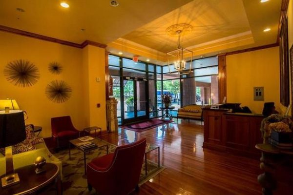 The Tennyson - Lobby